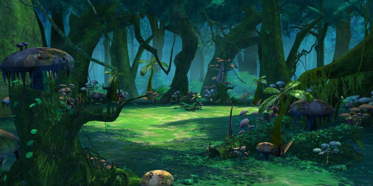Cartoon Forest Scene 3D Model MAX TGA | CGTrader - photo#33