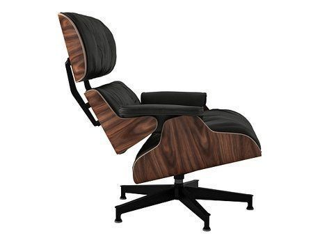 eames lounge chair and ottoman 3d model max obj fbx mtl 15 - Eames Lounge Chair And Ottoman