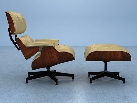 eames lounge chair and ottoman 3d model max obj fbx mtl 12 - Eames Lounge Chair And Ottoman