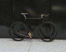 fixie bike 3d model