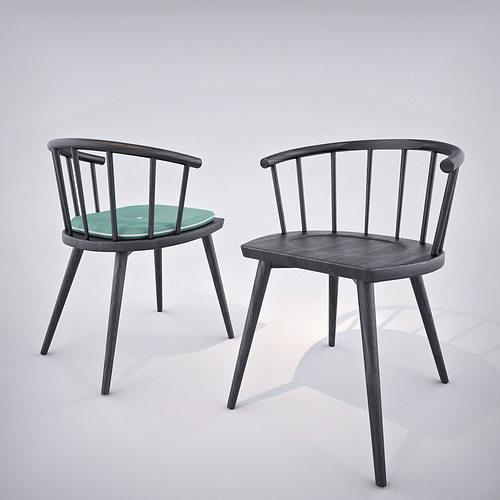 W Furniture: 3D Model Billiani W Chair