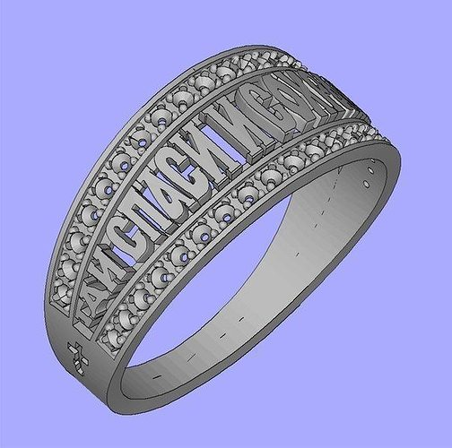 ring religion save and protect 3d model stl 1
