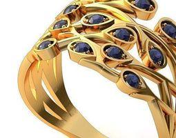 ring twig 3 3d print model