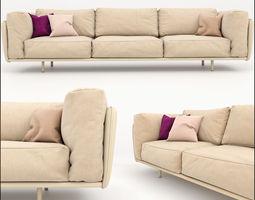 3D model Sofa photorealistic