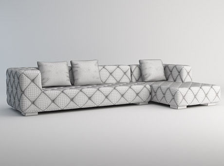 Modern Corner Sofa Model Max 4