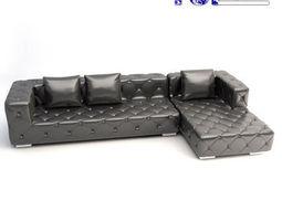 Modern corner sofa 3D model