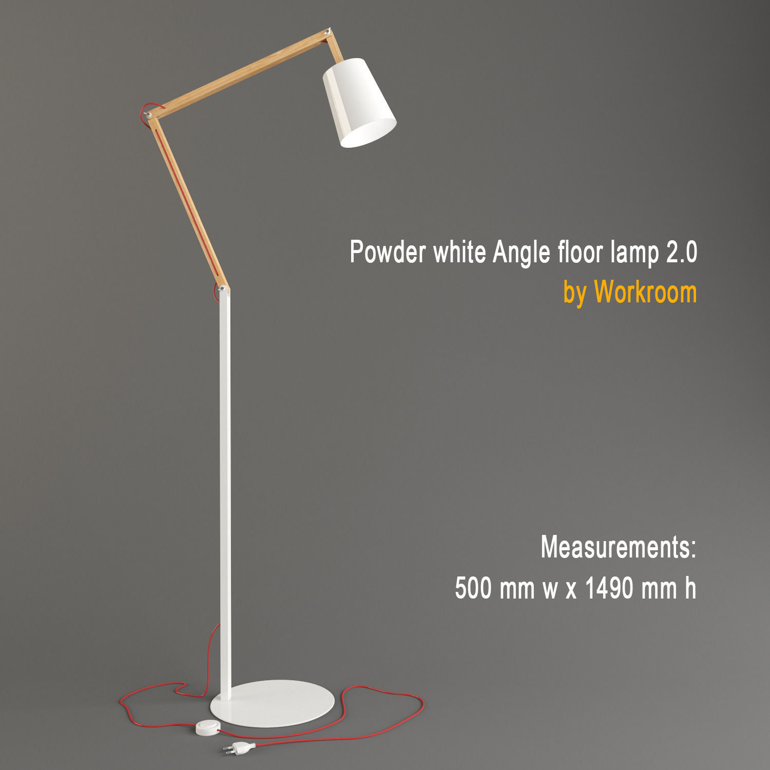 Powder white angle floor lamp by workroom 3d model max obj 3ds mtl powder white angle floor lamp by workroom 3d model max obj 3ds mtl 1 aloadofball Gallery
