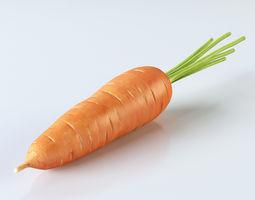 3D model root Carrot