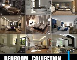 3D Bedrooms coll 1