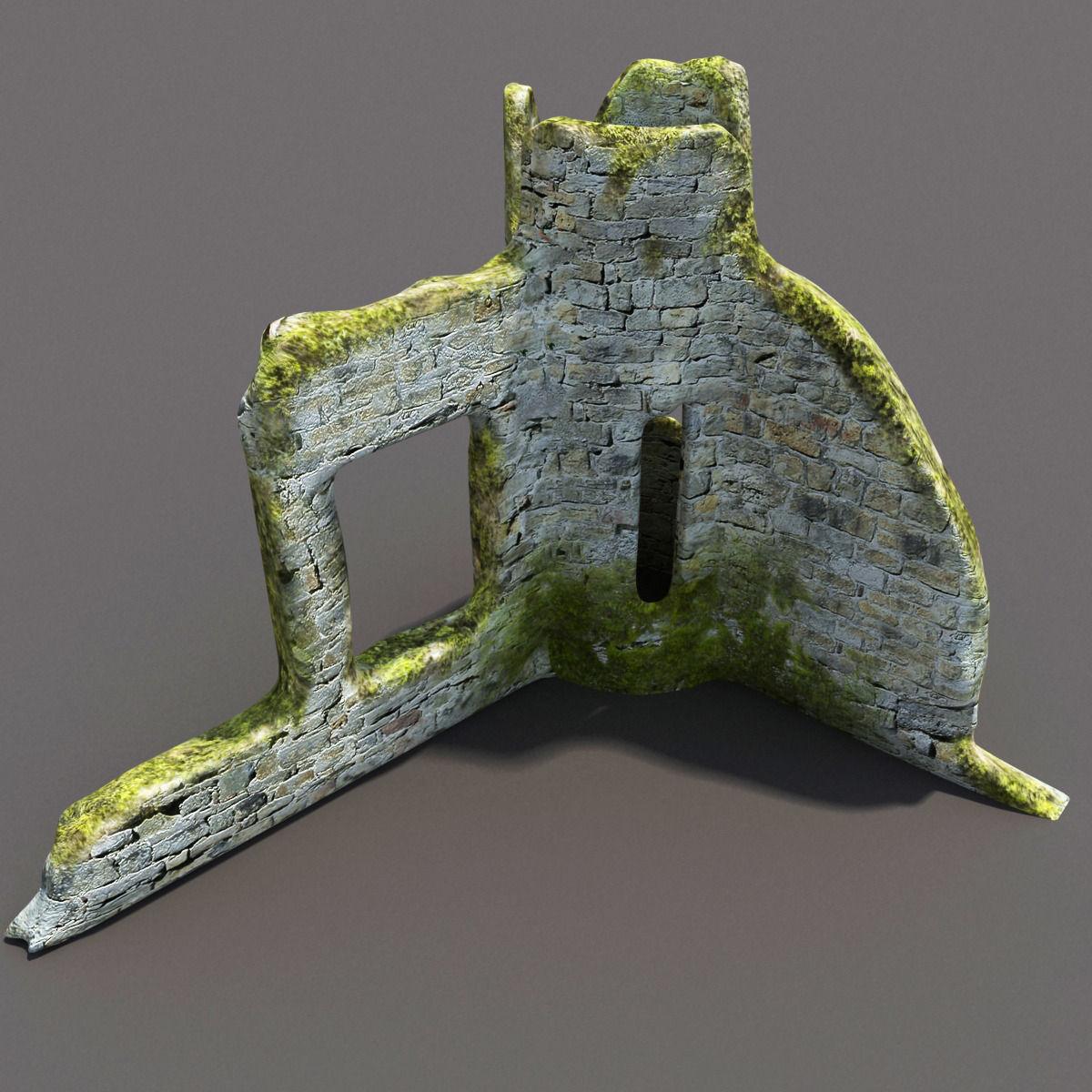 English Castle Ruin