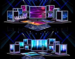 concert stage design 7 3d