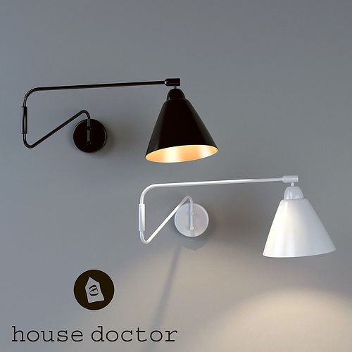 Wall Lamps 3d Model : Wall Lamp House Doctor 3D CGTrader