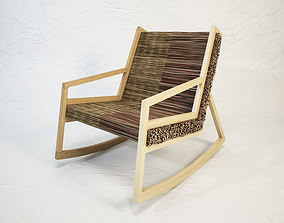 3D model STUDIO VACEK Haluz rocking chair by Tomas Vacek