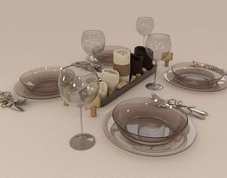 3D Table ware 2