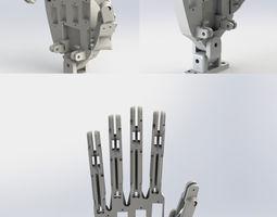 animatronic hand model