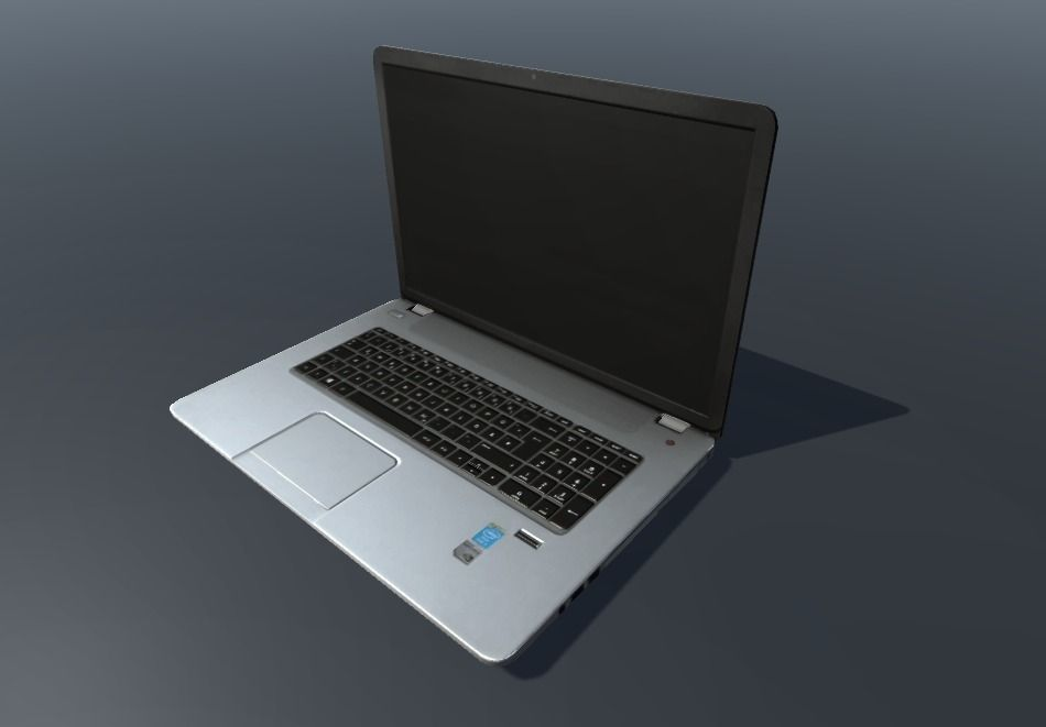 HP Notebook Low poly