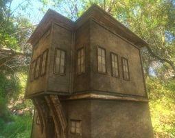 3D asset Small City Building 2