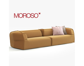 3D model Massas Moroso Modern Sofa