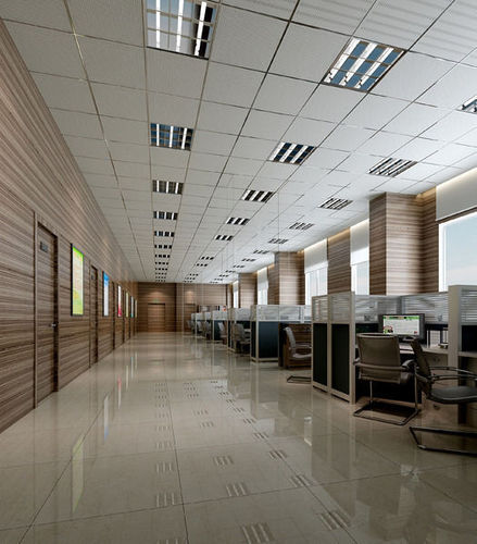 office 3d model max obj blend mtl 1