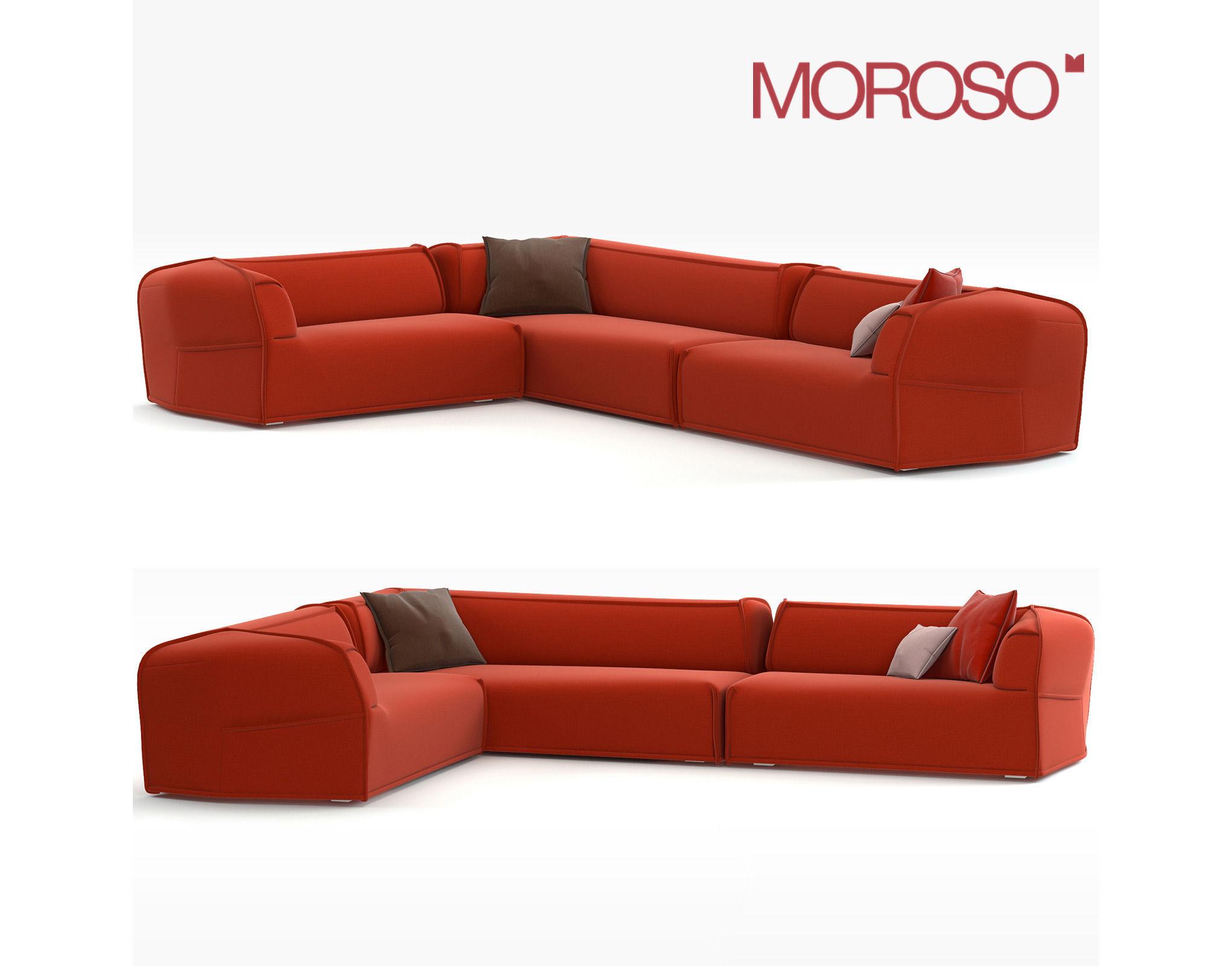 Red leather corner sofa olympian sofas rimini red corner for Red corner sofa