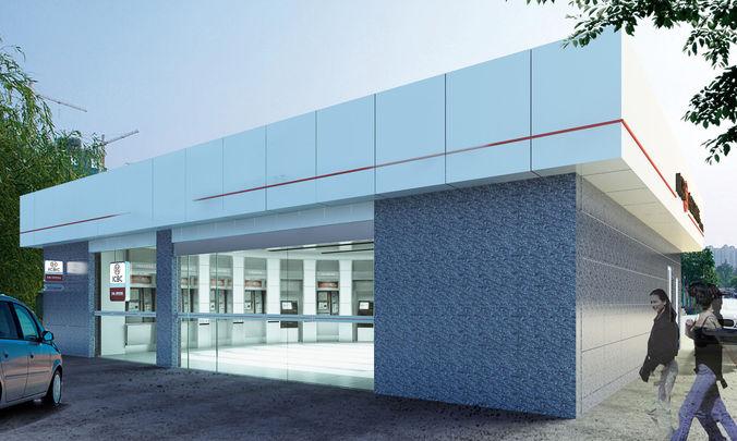 bank space 010 3d model max 1