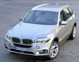 bmw x5 f15 2015 animated 3d model