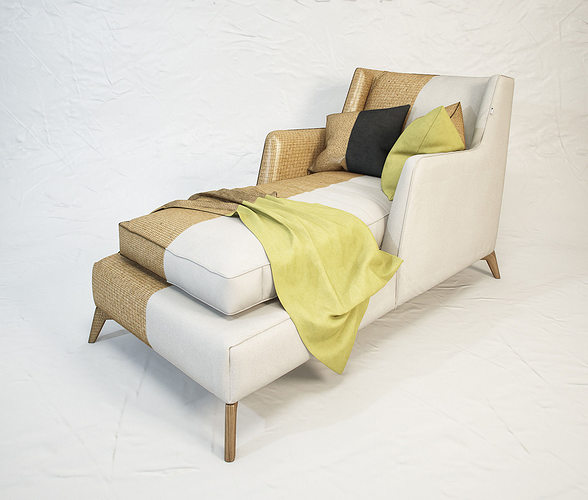 vibieffe class 680 lounge armchair 3d model max obj mtl fbx unitypackage prefab 1
