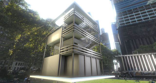 Tower-House Design - Blender Game Engine