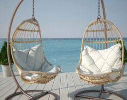 3D model Hanging chair