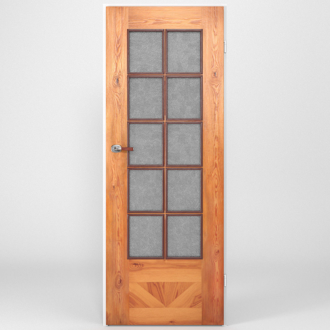 Wooden door 3d model rigged obj fbx blend for Door 3d model