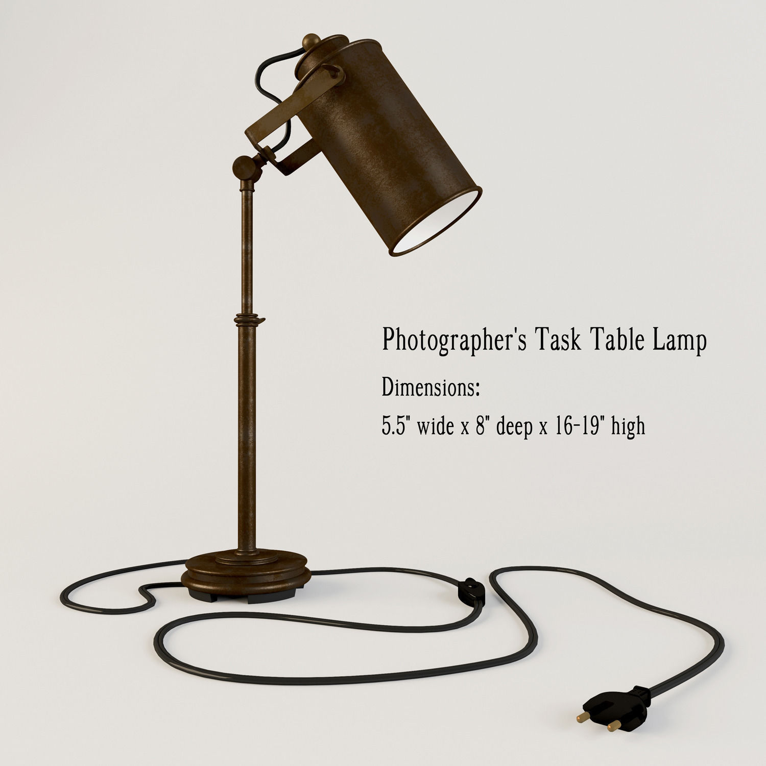 3d model photographer task table lamp cgtrader photographer task table lamp 3d model max obj 3ds 1 mozeypictures Gallery