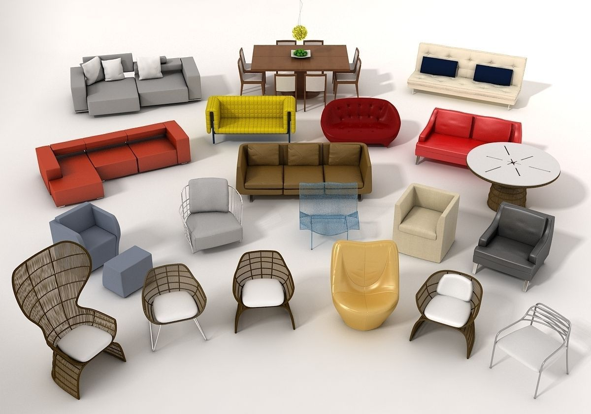 Furniture Model pack