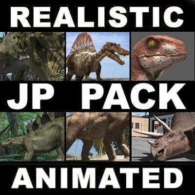 MY SPECIAL DINOSAUR PACK - rex 3d model