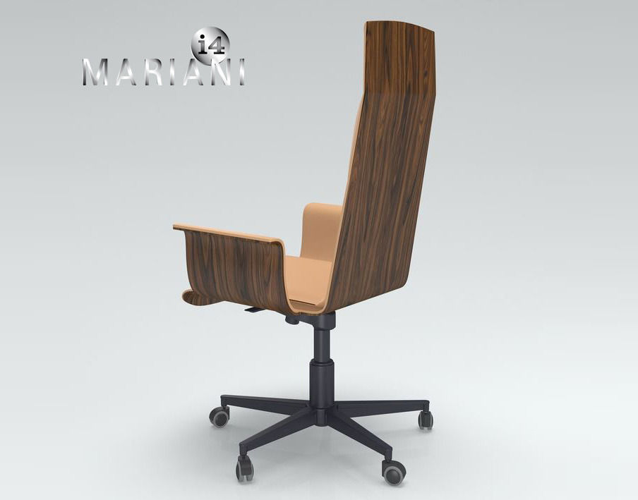 Office Armchair i4 Mariani Wing 3D model | CGTrader