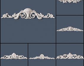 15 Decorative Onlays Collection 3D