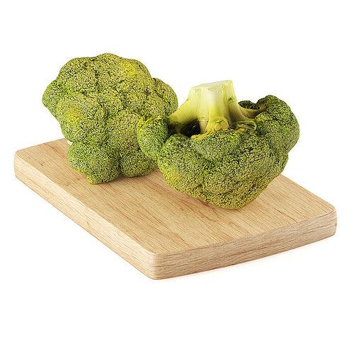 broccoli 3d model max obj mtl fbx c4d 1