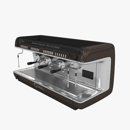 cimbali coffee machine 3d model max 3ds 1