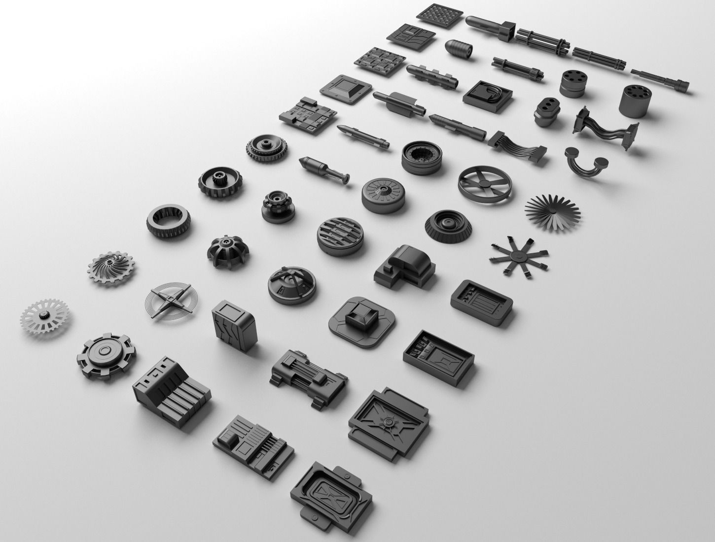 Technical parts collection 2