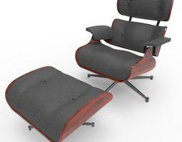 3D asset Eames Lounge Chair