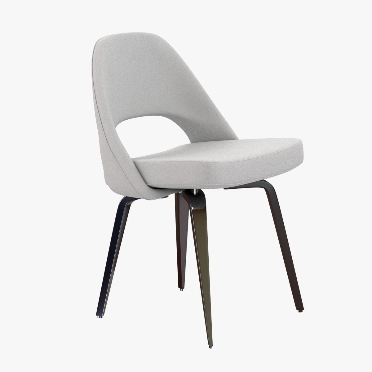 Saarinen Executive Side Chair 3d Model Max Obj 3ds Fbx Mtl 1 ...