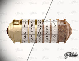 Cryptex collection 3D asset