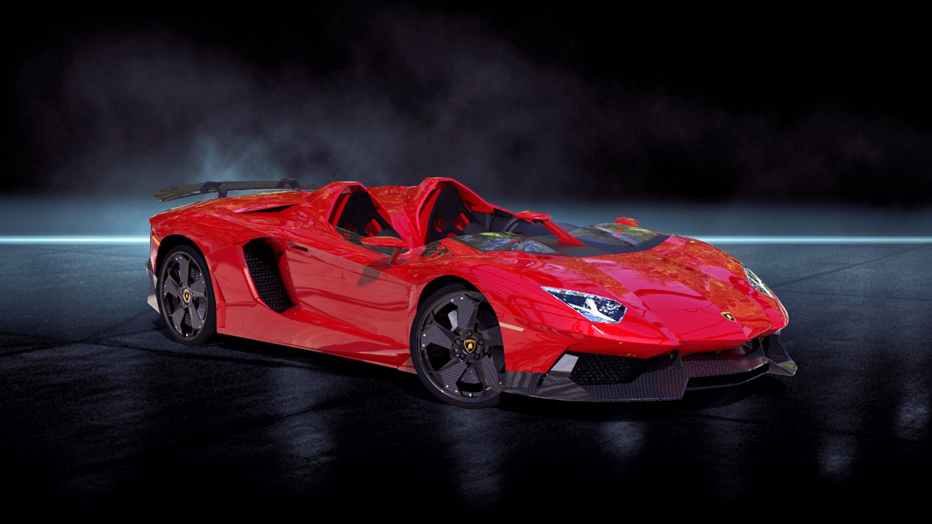 Lamborghini Aventador J 3d Model Cgtrader