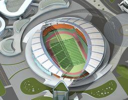 grand stadium 004 3d