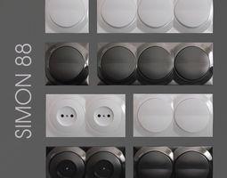 light switch simon 88  vol1 3d