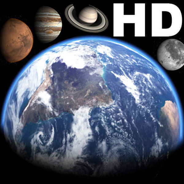 Awesome HD Planets  - 3d model
