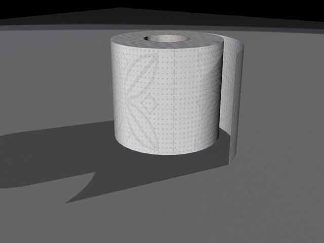 Toilet paper roll 3d model max obj 3ds for Toilet paper roll jewelry box
