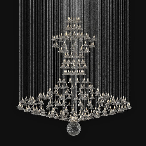 Interesting Chandelier Light 3Ds Max Gallery - Simple Design Home ...