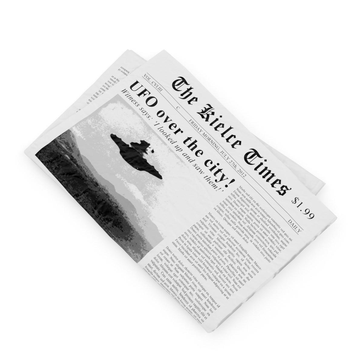Newspaper | 3D model
