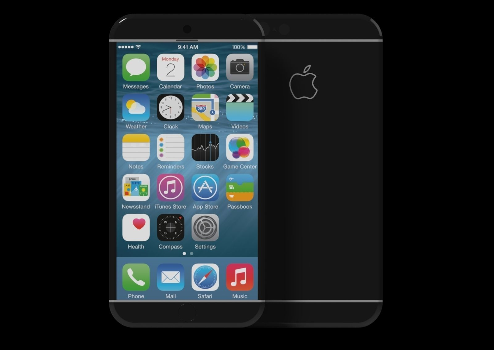 Iphone 7 Concept Design 3d Model