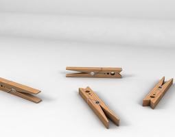 3D model Clothespin